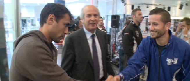 Rueda de prensa a Michele di Rocco y Rubén Nieto