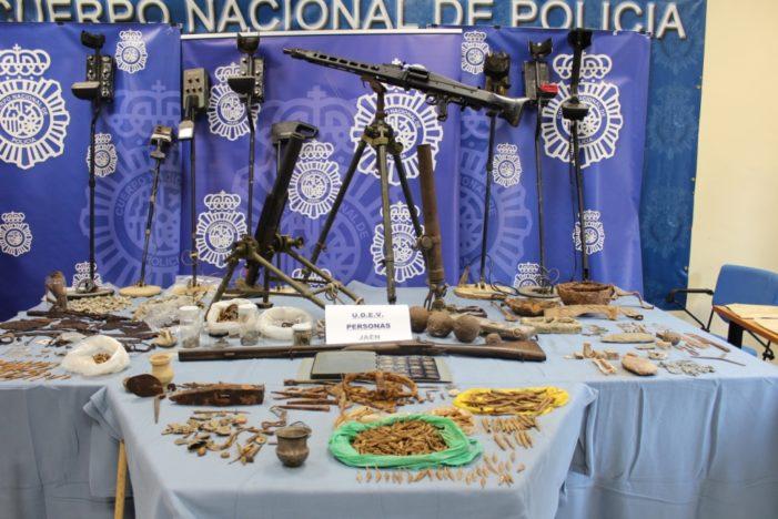 Concluye la Operación Reina en la lucha contra el expolio del Patrimonio Histórico de Jaén