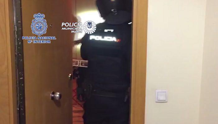 Desarticulado un grupo de narcotraficantes que distribuía hachís en Madrid capital y provincia