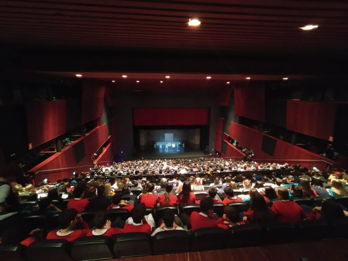 700 estudiantes de 9 centros educativos acuden hoy, Día contra la Violencia Machista, a la representación de 'Jauría'