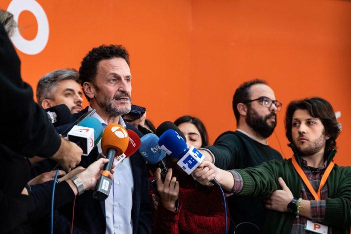 Cs presenta en toda España una moción contra las palabras de EH BILDU y para frenar las concesiones a los grupos independentistas